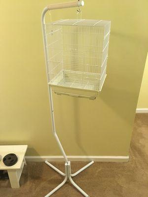 Bird cage + Toys for Sale in Woodbridge, VA