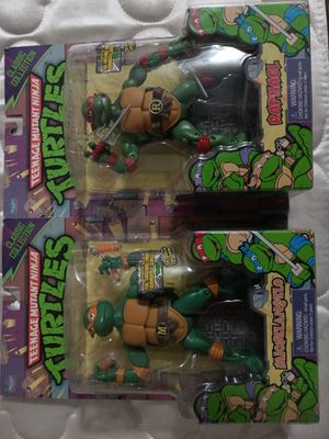 Tmnt action figures set for Sale in Westminster, CA
