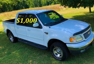 🟢💲1,OOO For sale URGENTLY this Beautiful💚2002 Ford F150 nice Family truck XLT Super Crew Cab 4-Door Runs and drives very smooth V8🟢 for Sale in Miami, FL