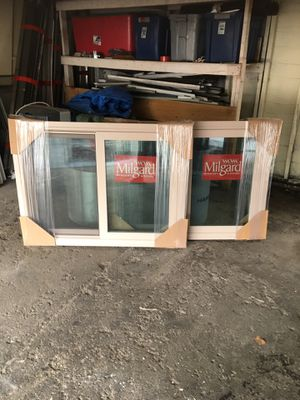2 BRAND NEW MILGARD TUSCANY RETRO FiT. BINYL WINDOWS YES STILL AVAILABLE 44 1/2. X 331/4 for Sale in Buena Park, CA
