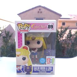 Sailor Moon & Luna #89 Glitter Go Calendar Exclusive Funko Pop for Sale in Gilbert,  AZ