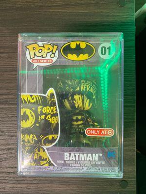Funko Pop Batman Art Series #01 Black & Yellow Target Exclusive for Sale in Long Beach, CA