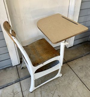 Antique 1960's Children's elementary School Desk for Sale in Los Angeles, CA