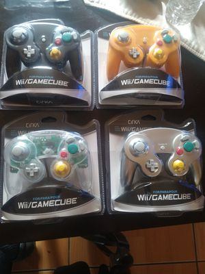 Nintendo Wii - GameCube -wii u Controllers new for Sale in San Diego, CA