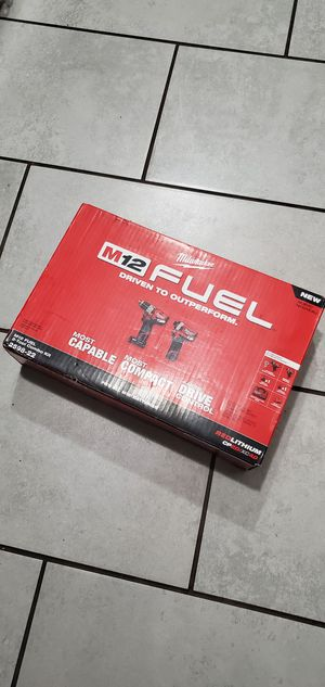 MILWAUKEE M12 VT FUEL BRUSHLESS SET NEW.NUEVO for Sale in Long Beach, CA