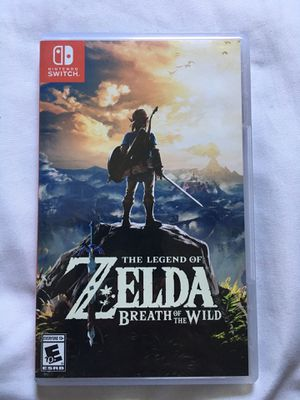 The Legend of Zelda Breath of the Wild -Nintendo Switch for Sale in Anaheim, CA