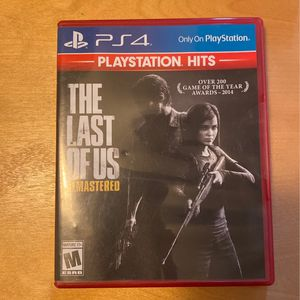 The Last Of Us (PS4 Remastered) for Sale in San Dimas, CA