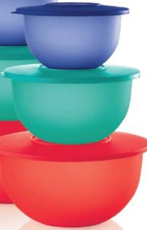 Tupperware Impressions Set Of 3 for Sale in Sanger, CA