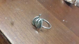 sterling & black enamel ring vintage for Sale in Madison, VA
