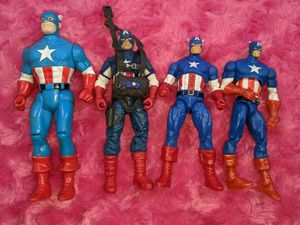Captain America Action Figures for Sale in Tacoma, WA