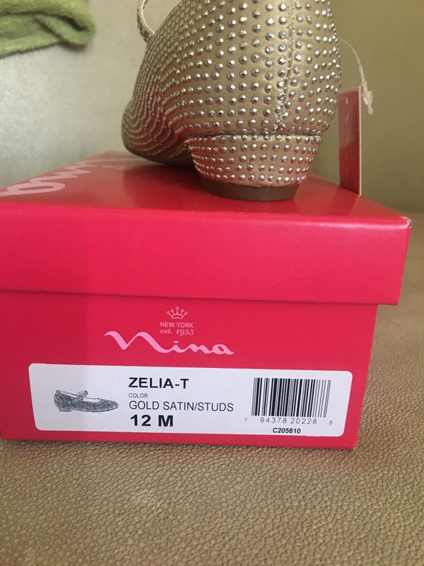 Nina shoes for girl 👧🏻 size 12