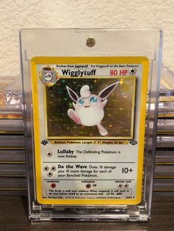 1999 Pokemon First Edition Wigglytuff for Sale in San Diego,  CA