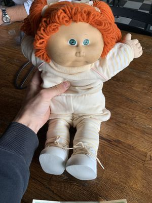 Cabbage patch doll with original tag for Sale in Newington, CT