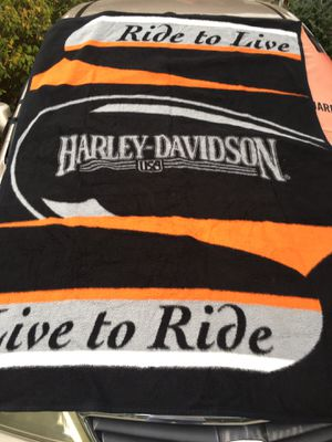 HARLEY DAVIDSON THRO PLANKETonly 20 Firm for Sale in Hanover, MD