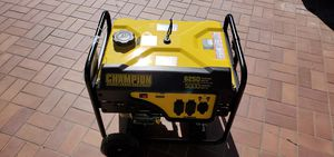 Champion 5000 watt generator for Sale in Bear Valley Springs, CA