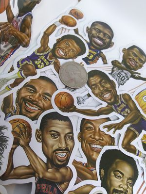 BASKETBALL GOATS STICKERS for Sale in Simpsonville, SC