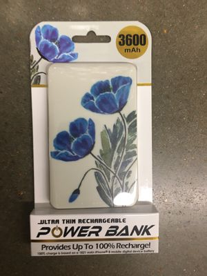 NWT ultra think rechargeable power bank for Sale in Cordova, TN