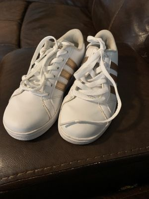 Adidas Girls Size 13k Tennis Shoes Like New for Sale in Greensboro, NC