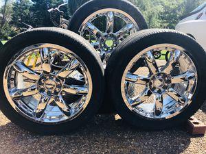 4 Pre-Owned 18 inch Rims CHROME for Sale in Murfreesboro, TN