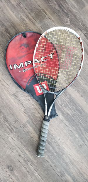 Wilson Tennis Racket w/ Cover for Sale in Denver, CO
