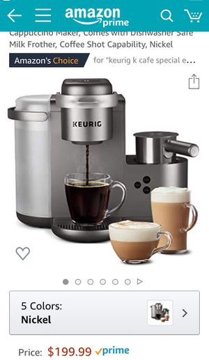 Keurig k-cafe special edition brand new in box for Sale in Los Angeles, CA