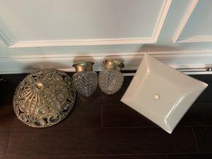 Pack of 4 light fixtures for Sale in Alexandria, VA