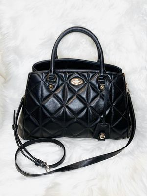 Quilted Leather Coach Purse for Sale in Chandler, AZ