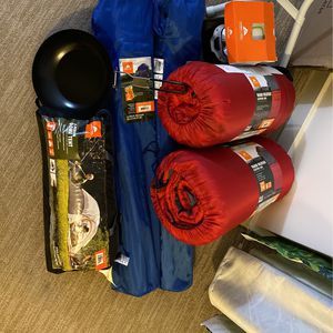 3 Person Camping Items - Complete Set - Make Me An Offer for Sale in Mercer Island, WA