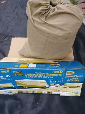 """3 layer RV cover fits travel trailers length 28'7""""-31'6"""" for Sale in Miami, FL"""