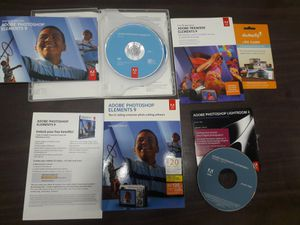 Adobe Photoshop Elements 9 pack 4pcs for Sale in Los Angeles, CA