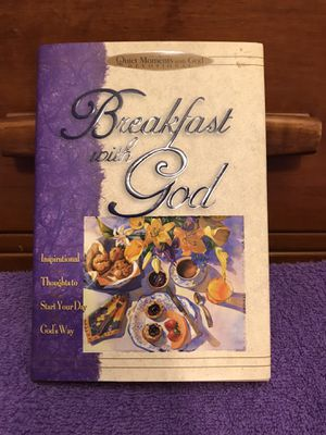 Breakfast with God devotional for Sale in Longview, TX