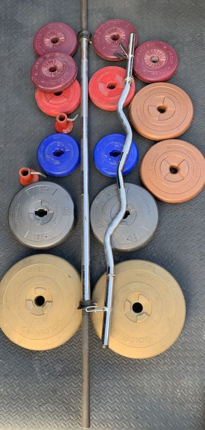 Weight and bars for Sale in Kent, WA