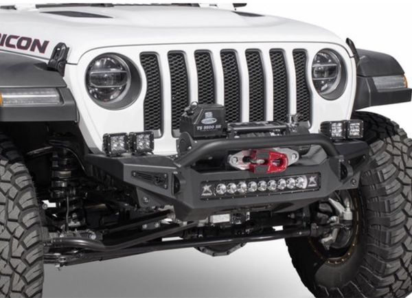 Jeep JL ADD Offroad Rock Fighter Front Winch Bumper for 18-19