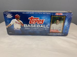 Tops 2009 Complete Set MLB Baseball Cards for Sale in Las Vegas, NV