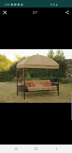 Fultondale Porch Swing with Stand for Sale in El Monte, CA