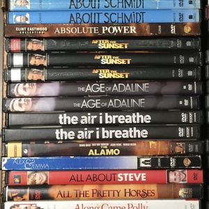 DVDS $1 EACH DISCOUNTS UP TO 80% OFF WITH MULTIPLE PURCHASES (A-N) for Sale in Tampa, FL