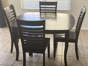 Solid Wood Table and Chairs for Sale in Surprise, AZ