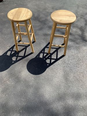 Wooden stools for Sale in Martinsburg, WV