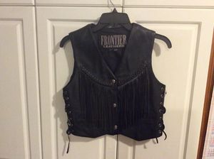 Leather Fringe Vest for Sale in Lee's Summit, MO
