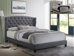 New! Queen Upholstered Bed for Sale in High Point, NC