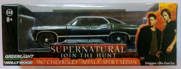 Supernatural 1967 Chevrolet Impala Sport Sedan Collectable Car Toy