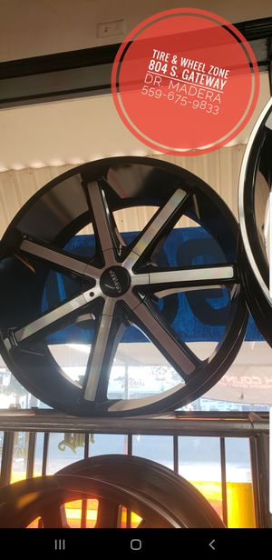New Wheel/Tire Package 5x115 Charger, Challenger, 300, Explorer. Huge Sale On Now In Madera. Biggest Selection In Madera.. for Sale in Madera, CA