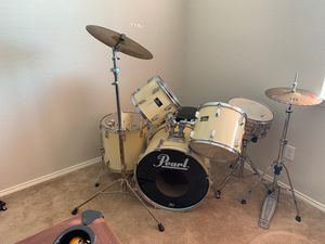Pearl Drum Set for Sale in Richardson, TX