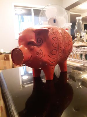 Huge Vintage Piggy Bank for Sale in Three Rivers, MI