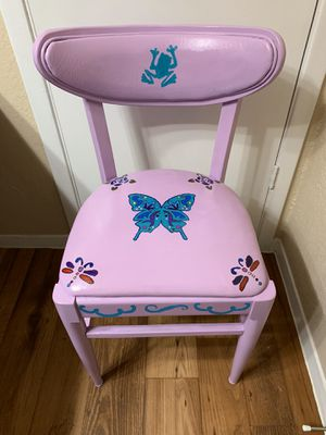 Hand painted chair (1) for Sale in Euless, TX