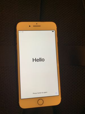 Rose gold iPhone 7 Plus for Sale in Puyallup, WA