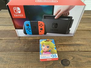 Nintendo Switch w/ Games & GC for Sale in Coral Gables, FL