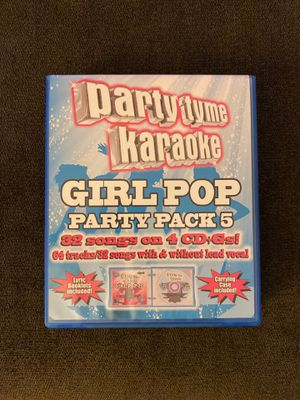 Karaoke - girl pop party pack 5 for Sale in Rancho Cucamonga, CA