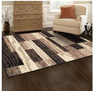 Modern Area Rug Jute Backing 5' x 8' Rugs Living Room Bedroom Home Decor Carpet for Sale in Wilkes-Barre, PA