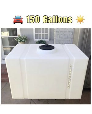 NEW... Water Tank, (150GALLON) Quality Heavy Duty☀️ for Sale in Santa Ana, CA